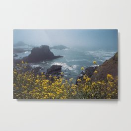 Yaquina Head Metal Print