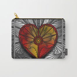 Spyro Heart on White Carry-All Pouch