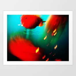 fishes fishes...:) Art Print