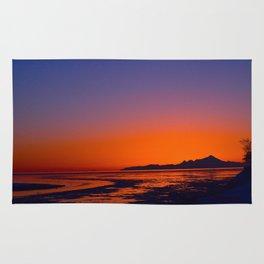 Mt. Iliamna Sunset Rug