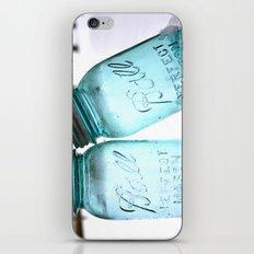Blue Ball Jars iPhone & iPod Skin