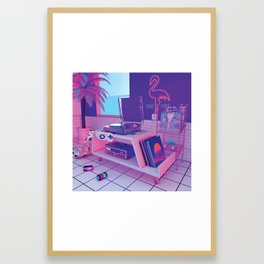 spinningwave Framed Art Print