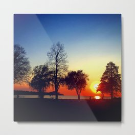 Happy in CLE Metal Print