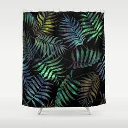 Reeya Tropical {Jade} Shower Curtain