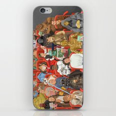 Strarwars at the movies iPhone & iPod Skin