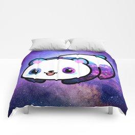 Kawaii Galactic Mighty Panda Comforters