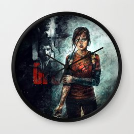 The Last of Us - Ellie Wall Clock