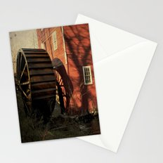 The Old Mill Wheel Stationery Cards