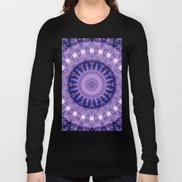 Deluxe lavender indulgence mandala Long Sleeve T-shirt