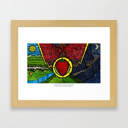 The Taste of Strawberries (Lord of the Rings) Framed Art Print