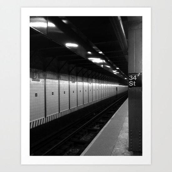 34th Art Print