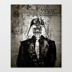Unreal Party Darth Vader Canvas Print