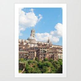 Seina, Tuscany Art Print