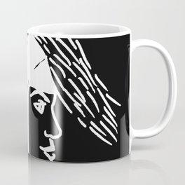 Deer Woman - Black and White Palette Coffee Mug