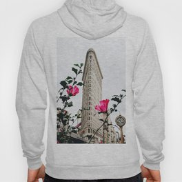 Pink Flowers in New York City (Color) Hoody