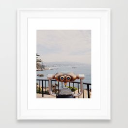Laguna Beach, California Framed Art Print