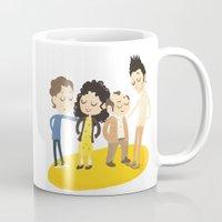 seinfeld Mugs featuring My Seinfeld Fantasy by Vera van Groos