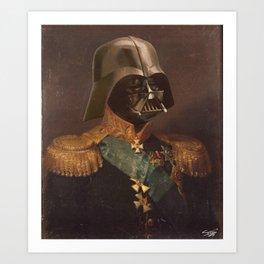 General Vader Class Photo | Fan Art Art Print