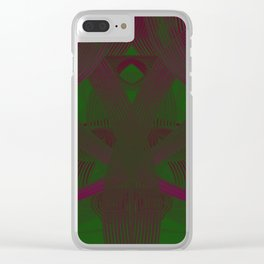 Cherokee Hoop Dance DPA151009a Clear iPhone Case
