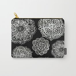 invert mandala maze Carry-All Pouch