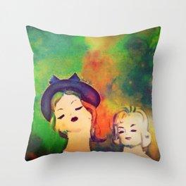 Snoot snoot Throw Pillow