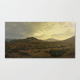Back to Andalucia Canvas Print