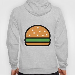 Burger Lover Design Cute And Funny Food Gift Idea Hoody