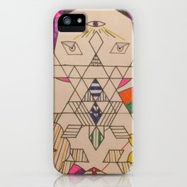 Fractal Entity iPhone Case