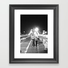 WHITEOUT : Young & In Fatuation Framed Art Print