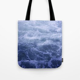Blue Water Crashes at Lock 19 Tote Bag