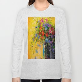 Bouquet of meadow flowers Long Sleeve T-shirt