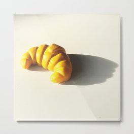 how to pronounce croissant? Metal Print
