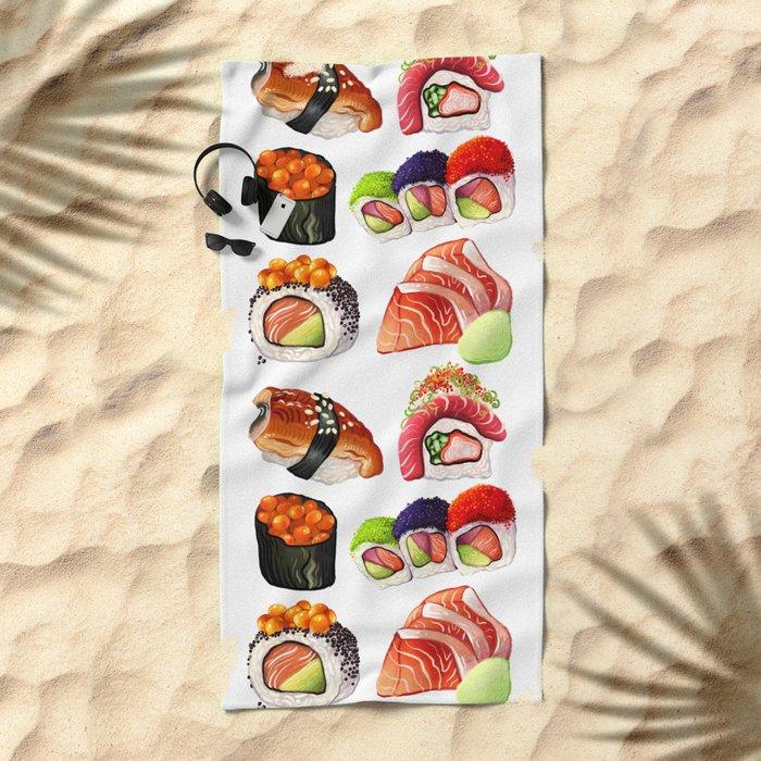 SUSHI Beach Towel