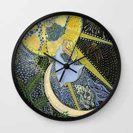Intuition Wall Clock