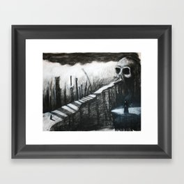 The Pilgrimage Framed Art Print