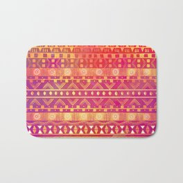 Inspired Aztec Pattern Bath Mat
