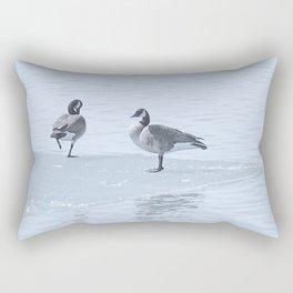Got Cold Feet? Rectangular Pillow