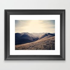 Exclusion Framed Art Print