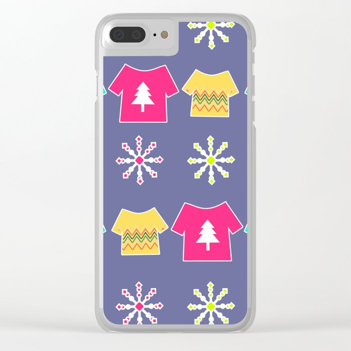 Christmas tees Clear iPhone Case