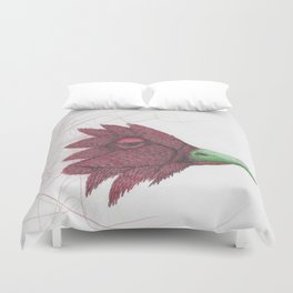 Bird of feathers Duvet Cover