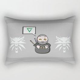 Witcher - Geralt Rectangular Pillow