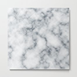 Marble Cloud Metal Print