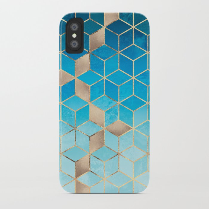 Sea And Sky Cubes (Custom Request) iPhone Case