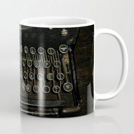 Vintage TypeWriter Machine  Coffee Mug