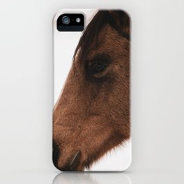 horse by Logan Weaver iPhone Case