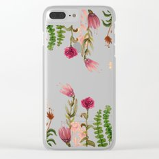 garden on mirror Clear iPhone Case