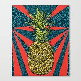Pineapple wrap |color| Canvas Print