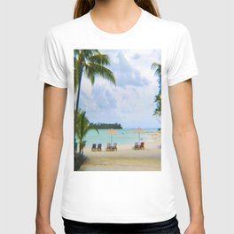 A Dreamy Day at a Tahitian Beach, Bora Bora T-shirt