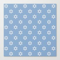 israel Canvas Prints featuring Israel Love by Lilach Oren