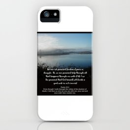 Don't worry, you can make it.... iPhone Case